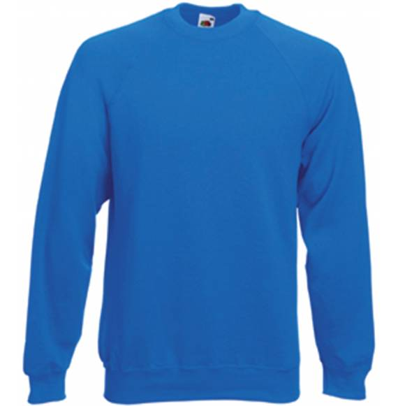 SWEAT HOMME COL ROND BLUE ROYAL