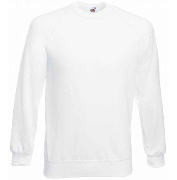 SWEAT HOMME COL ROND WHITE