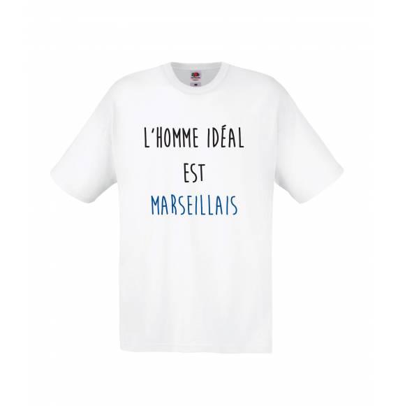 TEE-SHIRT HOMME L'HOMME MARSEILLAIS